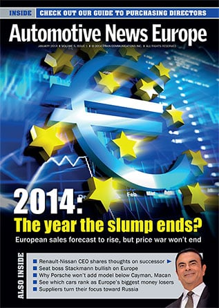 Automotive News Europe January 2014 Issue