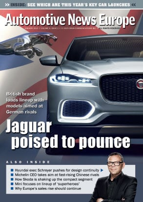 Automotive News Europe January 2015 Issue