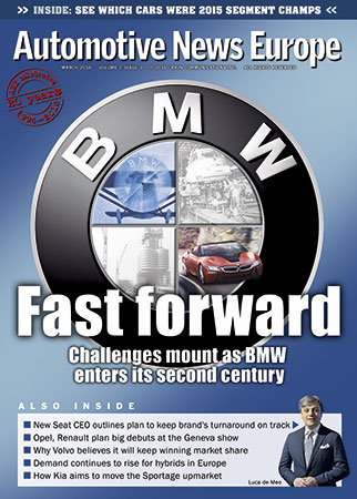 Automotive News Europe March 2016 Issue