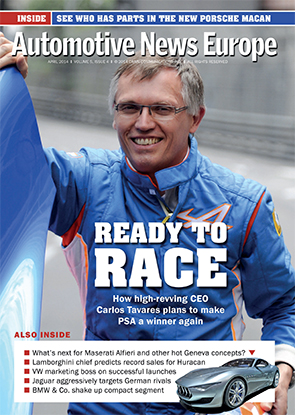 Automotive News Europe April 2014 Issue