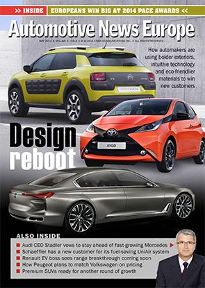 Automotive News Europe May 2014 Issue