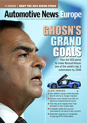 Automotive News Europe June 2014 Issue