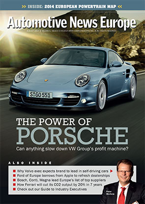 Automotive News Europe August 2014 Issue