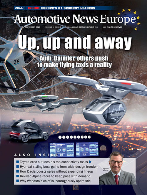 Automotive News Europe September 2018 Issue