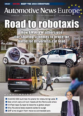 Automotive News Europe October 2018 Issue
