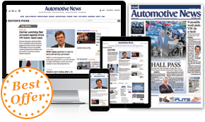 Automotive News - Print & Digital Combo + Online Access